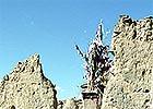 Ruiny severního klášter v Sakji, foto Ľ. Sklenka